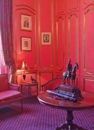 Rose-Room-Chateau-Sommesnil-Normandie-Grand-Chateau-France-Available-bookings-holidays-weddings